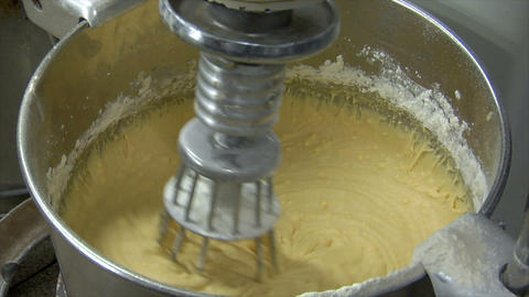 german bakery pastry mixer loop 10770 Stock Video Footage