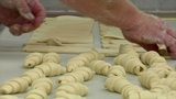 german bakery many marzipan roll bun 10773 Footage