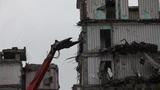 demolition machine Footage