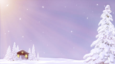 Winter Background Animation