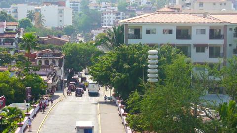 Puerto Vallarta Timelapse Stock Video Footage