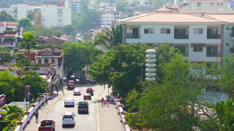 Puerto Vallarta Timelapse Stock Video Footage