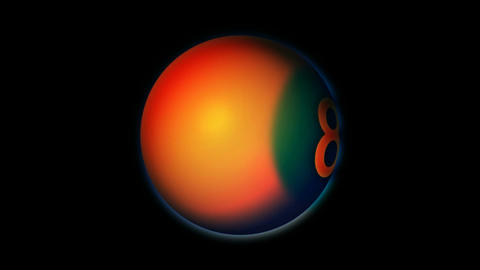 planet ball Stock Video Footage