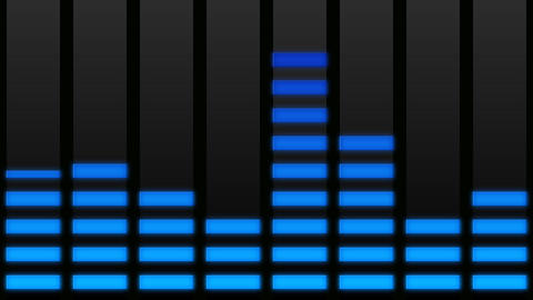 audio meter Stock Video Footage