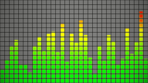 audio equalizer Animation