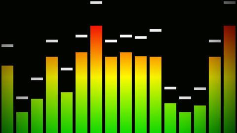 audio graphic Stock Video Footage
