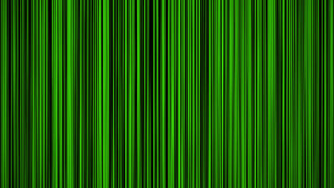 vertical green Animation