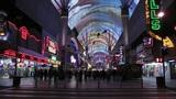 Fremont Street in Las Vegas Footage