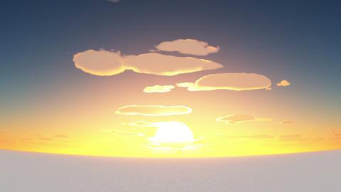 日の出 Animation