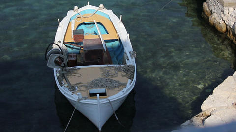 Fisher Boat 04 Stock Video Footage