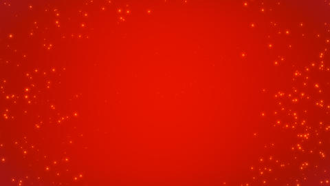 Sparkling Red Background Animation