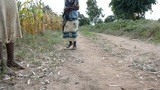 African girl Footage