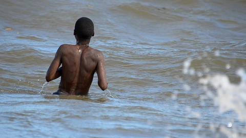 African child Stock Video Footage
