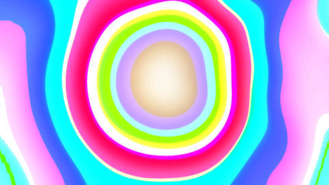Psychedelic Abstract Background stock footage