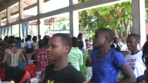 African people Stock Video Footage