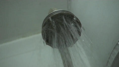 shower Stock Video Footage