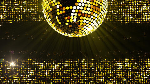 Mirror Ball 2 x 4 SP D Mb 1 HD Stock Video Footage