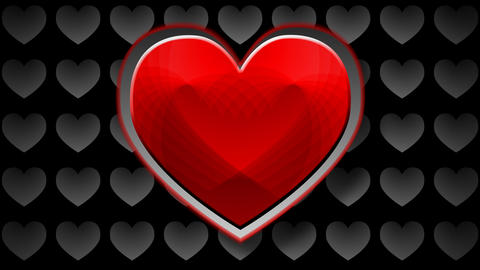 red heart Stock Video Footage