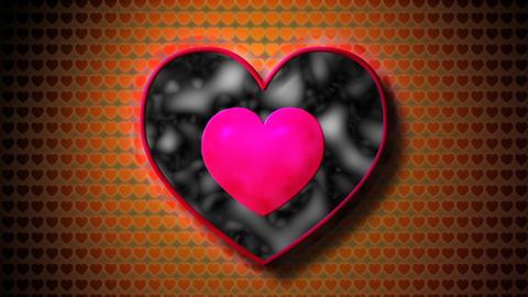 fractal heart Stock Video Footage