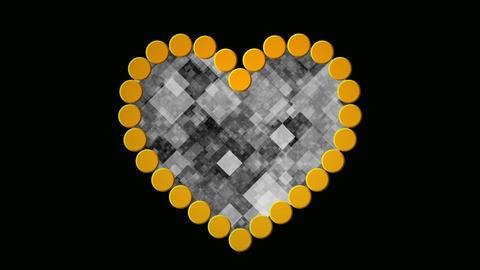 digital heart Stock Video Footage