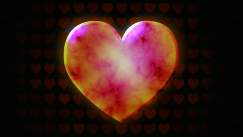 love heart Stock Video Footage