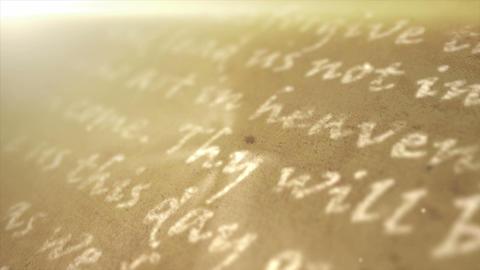 Religious Text Background Animation