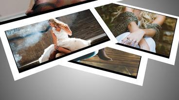Samll Slideshow stock footage