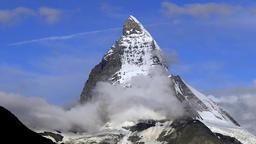 Matterhorn, Mont Cervin, Switzerland Footage