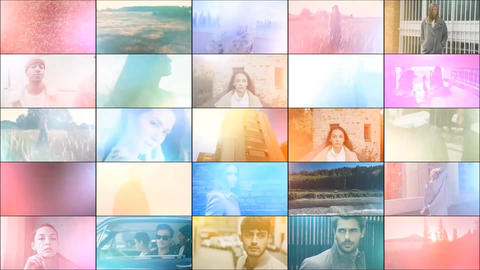 25 Light Leaks Pack After Effects Template