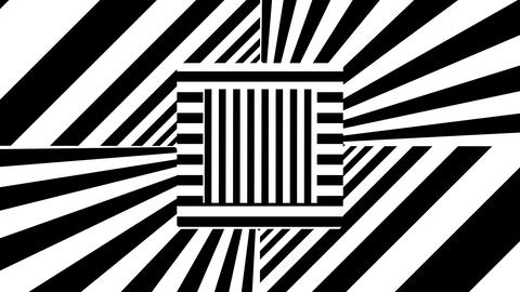 Abstract background with black and white stripes Archivo