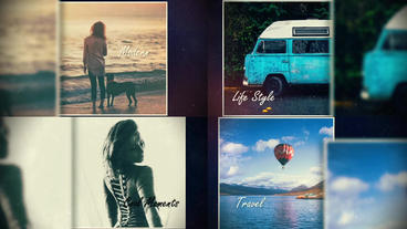 Nice Memories SlideShow After Effects Templates