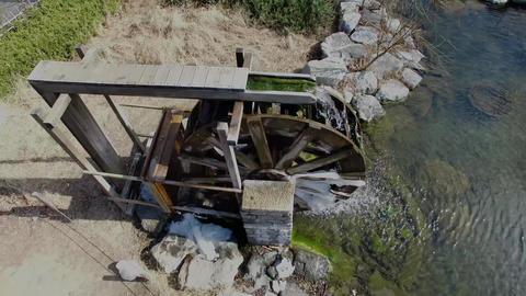Korean Style Watermill, Busan, South Korea, Asia Filmmaterial