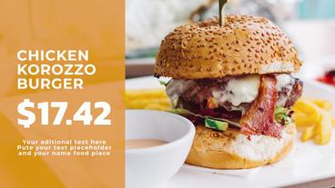 Premier Restaurant Promo Premiere Pro Template