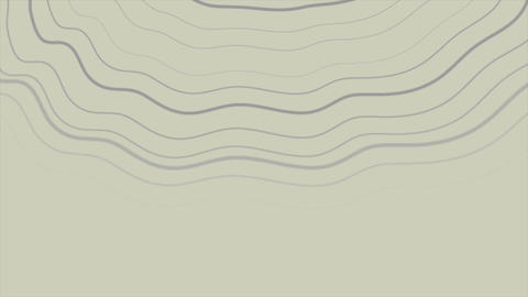 Abstract grey curved lines futuristic video animation Animation
