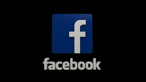 Facebook Logo Stock Video Footage