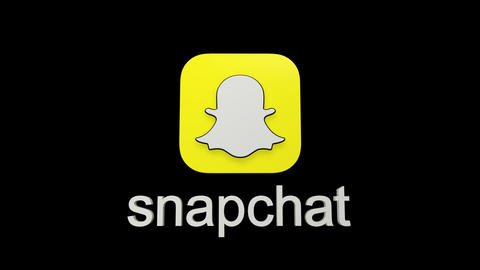Shapchat logo Animation
