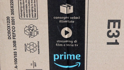 Amazon Prime Cardboard Box Opening Live Action