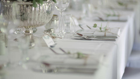 Dinner, Romance, Wedding Reception, Party Footage