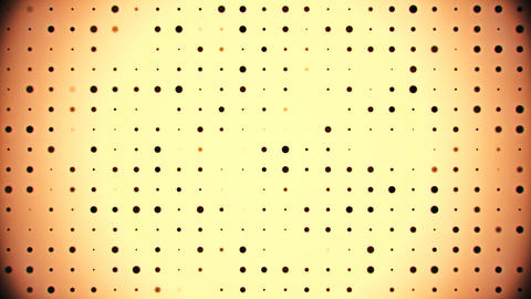 Black Digital Dots Code VJ Loop Motion Graphic Background วิดีโอสต็อก