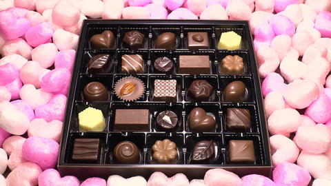 Chocolate for Valentines day Image