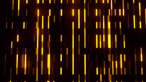 Golden Glowing Digital Neon Lines VJ Loop Motion Background Animation