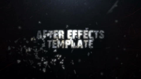 BREAKING TITLES After Effects Template