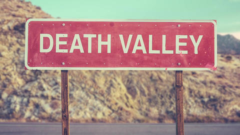 Death Valley Sign Animation