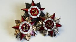 4K Soviet Military Medal Footage