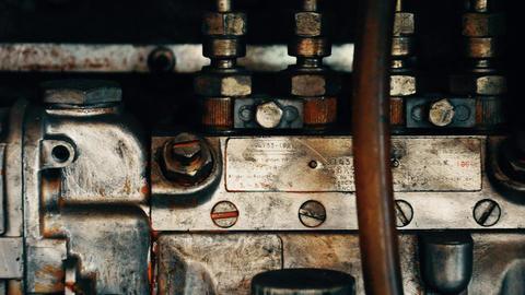 Antique Diesel Engine ビデオ