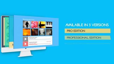 Promo Desktop After Effects Template