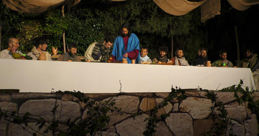 Last Supper Footage