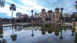 Museum of Popular Arts in Sevilla, Spain Footage