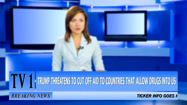 Breaking News Lower Third Pack After Effects Template