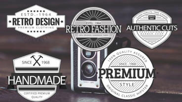 Badges Titles After Effects Templates
